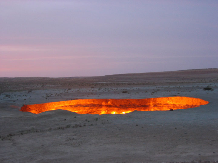 The evil hell hole in Turkmenistan-The 10 Most Scary Places On The Earth-7