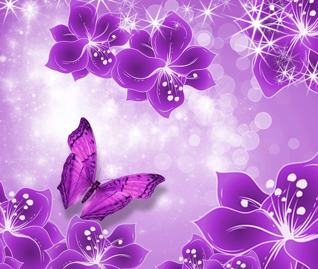 Hd Purple Wallpaper Image To Use As Background