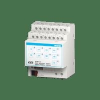 8-fold binary output / 4-fold blind actuator