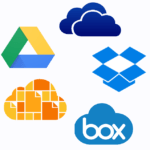 Google Drive Vs. One Drive  Vs. Drop Box Vs. iCloud vs. Box
