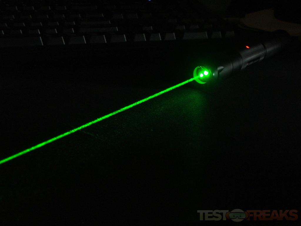 Wicked Lasers Spyder II GX Green Laser Technogog