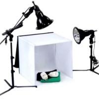 Les mini studios photos Macro pour des photos de qualité.