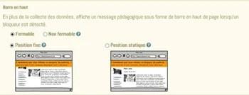 blocage de pubs sur internet