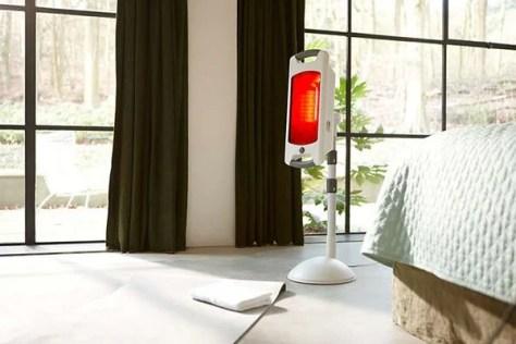 Design et lampe infrarouge Philips
