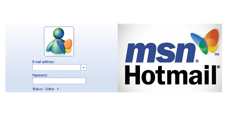 How do I log into MSN Messenger & Hotmail?