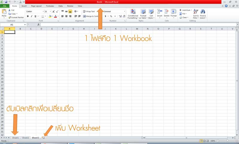 Workbook Worksheet