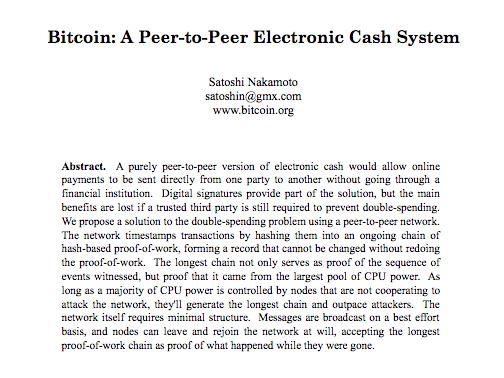 satoshi nakamoto s 2021 bitcoin white paper
