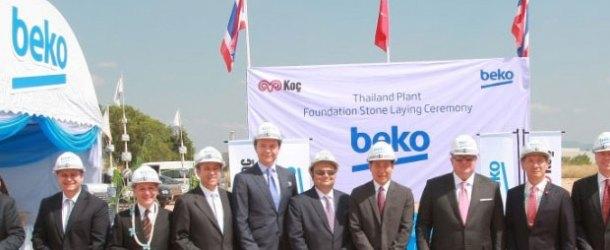 Arçelik üretim merkezi olarak Tayland'ı seçti