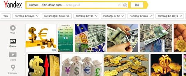 Piyasalar sallandı Yandex'te en çok euro arandı