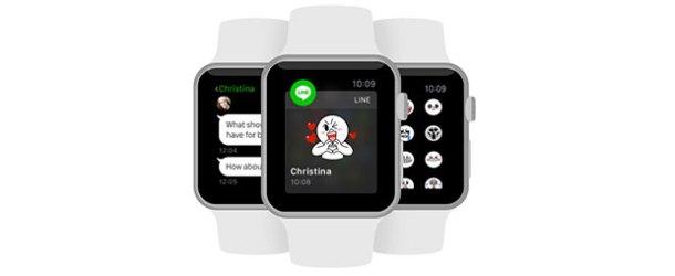 LINE artık Apple Watch'ta
