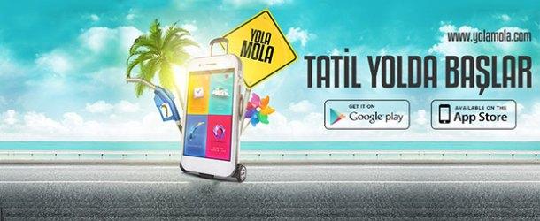 Seyahatseverler için mobil uygulama: Yola Mola