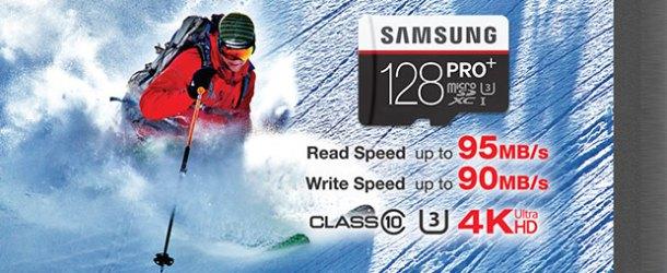 PRO Plus mikroSD serisinde 128 GB devri