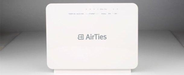 AirTies'tan hızlı ve kesintisiz kablosuz internet için Air5760