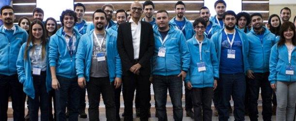 Microsoft CEO'su Satya Nadella Türkiye'yi ziyaret etti