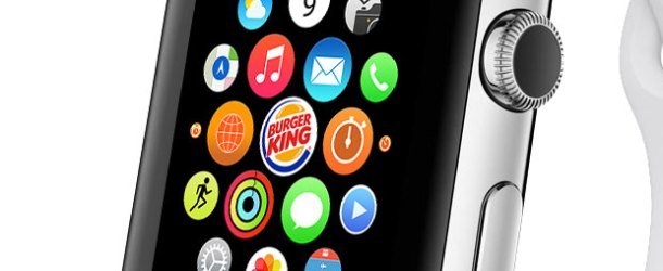 Burger King'de 'Apple Watch'tan sipariş dönemi