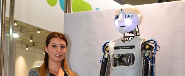 WIN Eurasia Automation Fuarı'nın yıldızı 'Robo Thespian' oldu