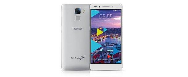 Türk Telekom'dan yeni akıllı telefon: Honor 7