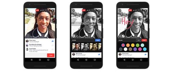Canlı video özelliğine sahip Facebook Live, Türkiye'de kullanımda
