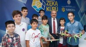 Turkcell'den Türkiye'nin Zeka Küpleri'ne destek
