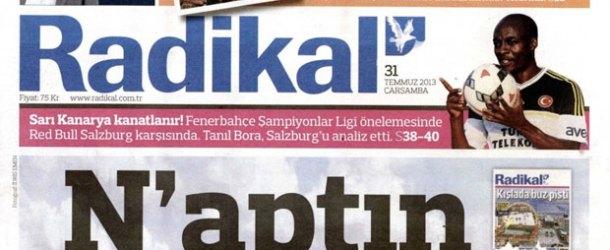 Hürriyet, Radikal'in kapatıldığını KAP'a bildirdi