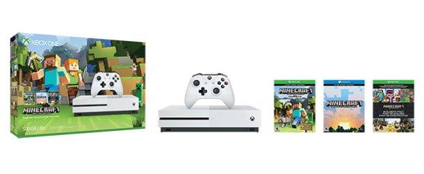 Xbox One S Minecraft paketi Türkiye'de