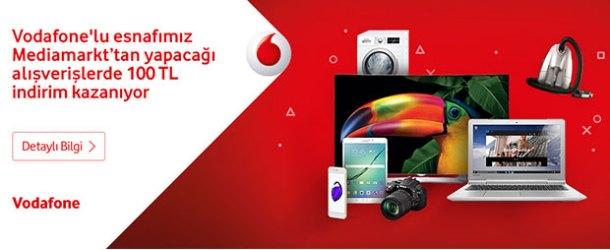 Vodafone'lu esnafa Media Markt alışverişlerinde indirim