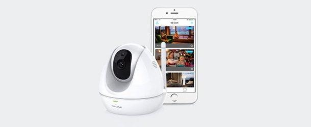 TP-Link'ten akıllı IP kamera