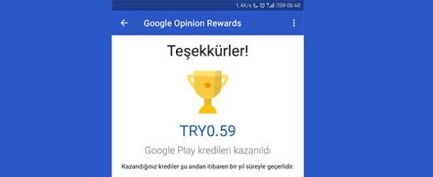 Google'ın Ödüllü Anketler uygulaması Türkiye'de