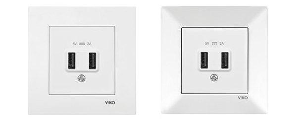 Panasonic Eco Solutions'tan USB priz