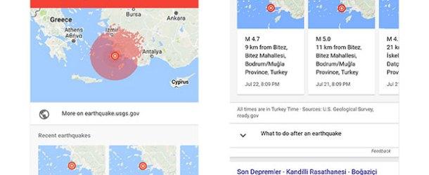 Google'dan kriz anında SOS uyarısı