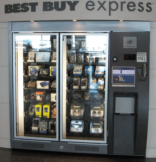 It's a Best Buy! Except at an Airport! Inside a Machine!