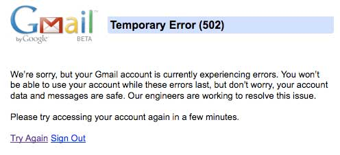 """Gmail: Maybe the """"G"""" Stands for """"Gone""""?"""