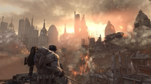 Sinkhole in Gears of War 2