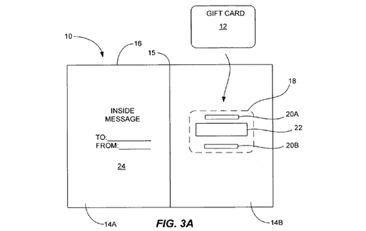 Apple Patents Gift Card Carrier