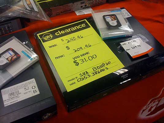 Circuit City Clearance