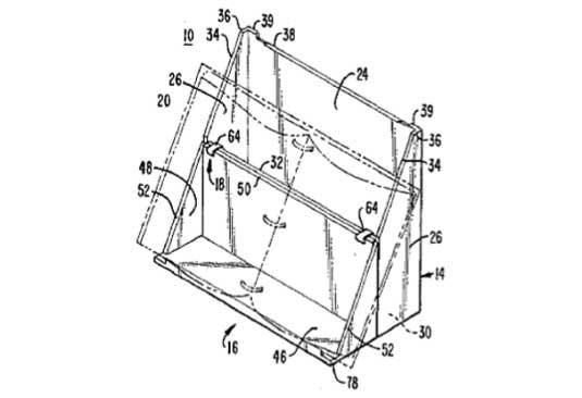Microsoft Magazine Holder Patent