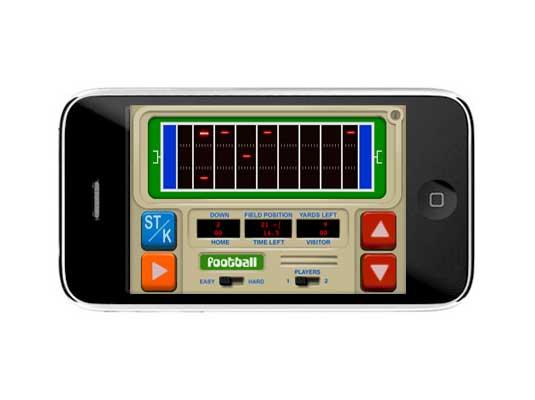 TouchGrove LCD Football