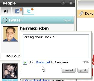 Flock Twitter
