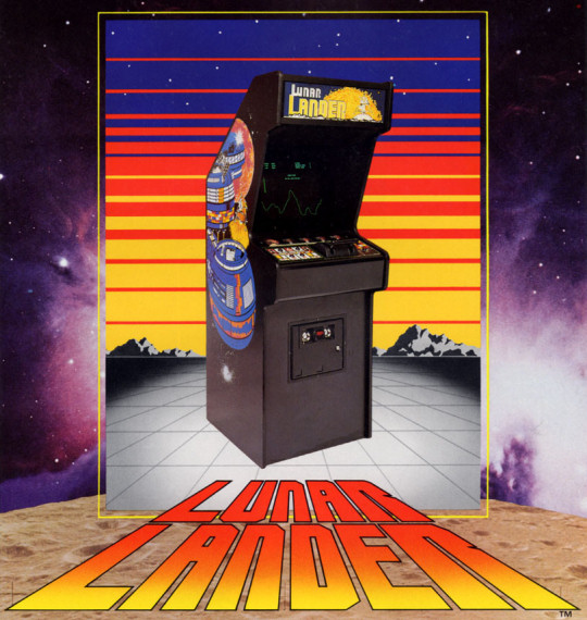 Atari's Lunar Lander Arcade Game