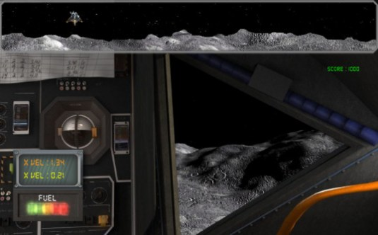Lunar Landing Game - Science Channel