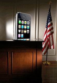iPhone in Court