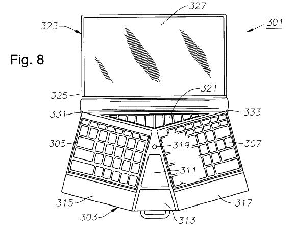 Butterfly-style laptop
