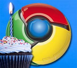 Chrome Birthday