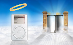 Heavenly iPod