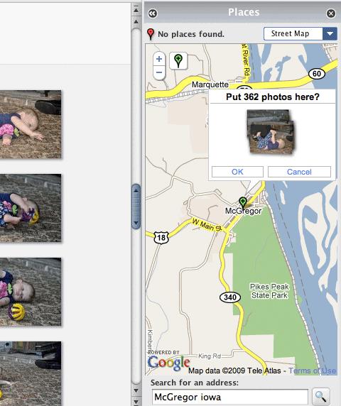 Picasa Geotagging