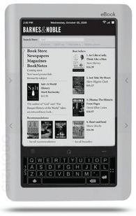 Barnes and Noble E-Reader