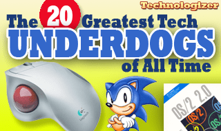 The 20 Greatest Tech Underdogs of All Time