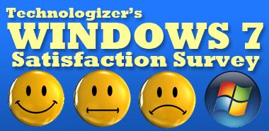 Windows 7 Satisfaction