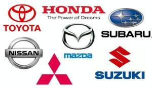 Japanese Car Logos