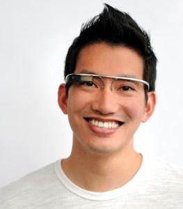 Google's hi-tech futuristic glasses